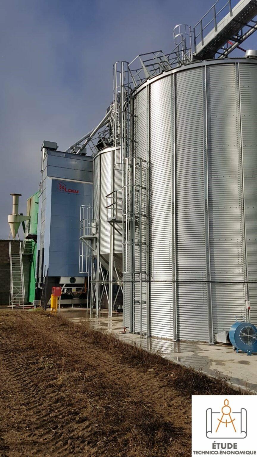 focus sechoir et silo installation bio oise agriconsult