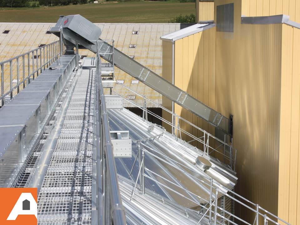 convoyeur à chaine à cereales agriconsult