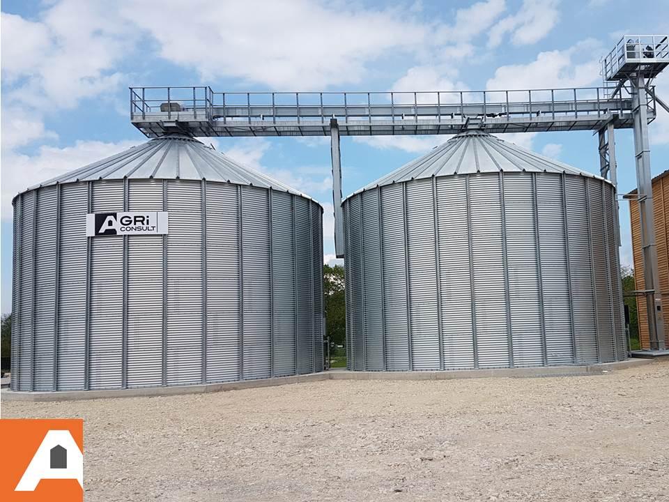 deux silos a pellets agriconsult